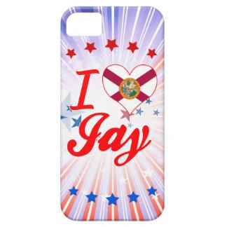 Amo a Jay la Florida iPhone 5 Case-Mate Coberturas