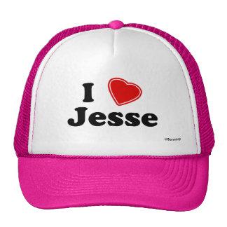 Amo a Jesse Gorros Bordados