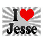 Amo a Jesse Tarjetas Postales