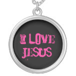 Amo a Jesús Colgantes