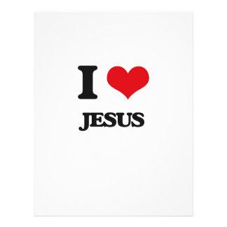Amo a Jesús Flyer Personalizado