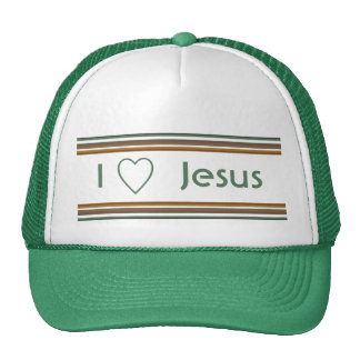 Amo a Jesús Gorros Bordados