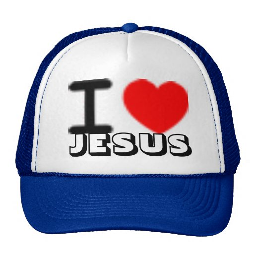 amo a JESÚS Gorros