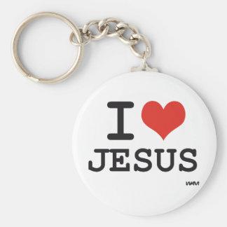 Amo a Jesús Llavero