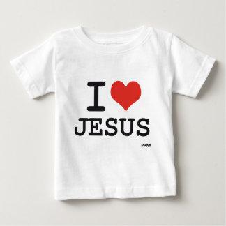 Amo a Jesús Playera De Bebé