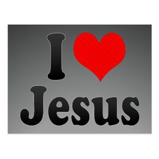Amo a Jesús Postales