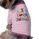 Amo a Jesús Prenda Mascota