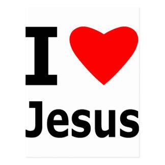 Amo a Jesús Tarjeta Postal