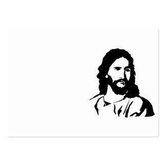 Amo a Jesús Tarjetas De Visita Grandes