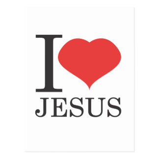 Amo a JESÚS Tarjetas Postales