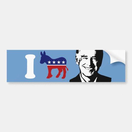Amo a Joe Biden Pegatina Para Auto