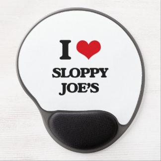 Amo a Joe descuidado Alfombrillas De Ratón Con Gel