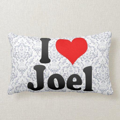 Amo a Joel Almohada