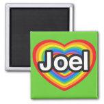 Amo a Joel. Te amo Joel. Corazón Iman