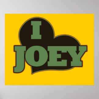 Amo a Joey Póster