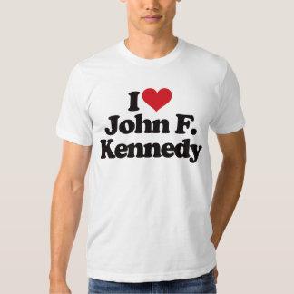 Amo a John F. Kennedy Remera