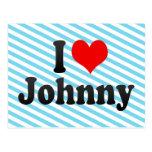 Amo a Johnny Tarjetas Postales