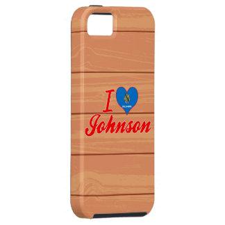 Amo a Johnson, Oklahoma iPhone 5 Case-Mate Cárcasa
