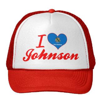 Amo a Johnson, Oklahoma Gorros Bordados