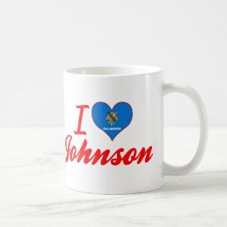 Amo a Johnson, Oklahoma Taza De Café