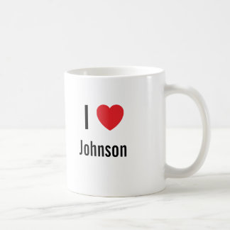 Amo a Johnson Taza