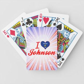 Amo a Johnson, Wisconsin Baraja De Cartas