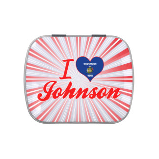 Amo a Johnson, Wisconsin Frascos De Caramelos