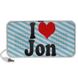 Amo a Jon Altavoces De Viajar