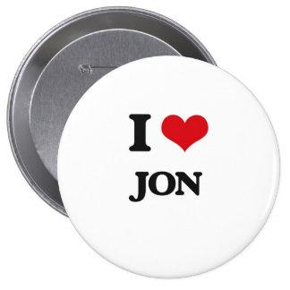 Amo a Jon Chapa Redonda 10 Cm