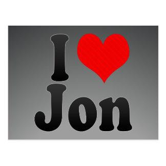 Amo a Jon Postales