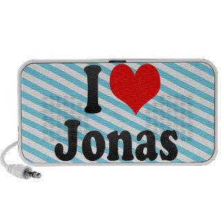 Amo a Jonas Altavoces De Viaje