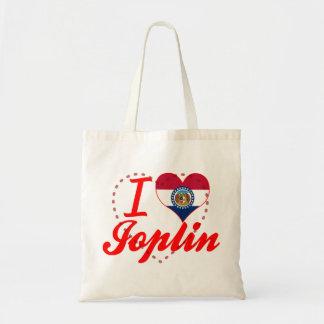 Amo a Joplin, Missouri Bolsas De Mano