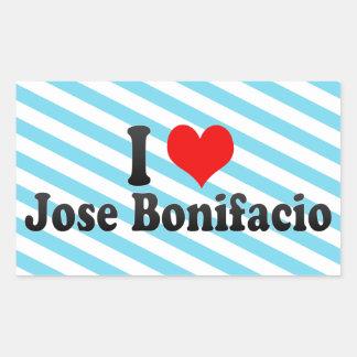 Amo a Jose Bonifacio, el Brasil Rectangular Altavoz