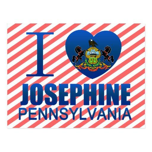 Amo a Josephine, PA Postales