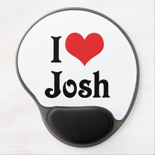 Amo a Josh Alfombrilla De Raton Con Gel