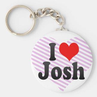 Amo a Josh Llavero Personalizado
