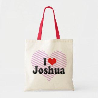 Amo a Joshua Bolsas Lienzo