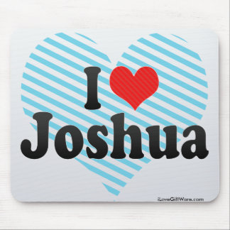 Amo a Joshua Tapetes De Ratones