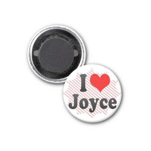 Amo a Joyce Imán Para Frigorifico