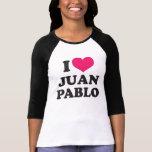 Amo a Juan Pablo Playera