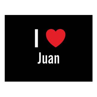 Amo a Juan Tarjetas Postales