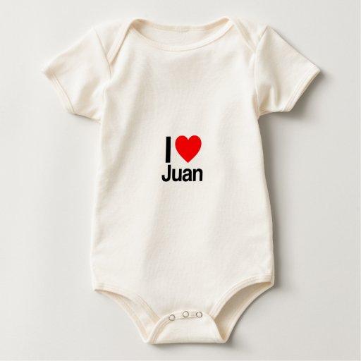 amo a juan trajes de bebé