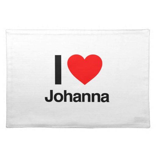 amo a Juana Manteles Individuales