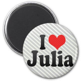 Amo a Julia Imanes De Nevera