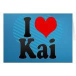 Amo a Kai Felicitacion