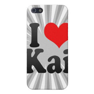 Amo a Kai iPhone 5 Carcasas