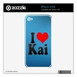 Amo a Kai iPhone 4 Skin
