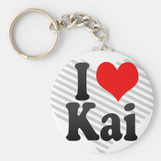Amo a Kai Llavero