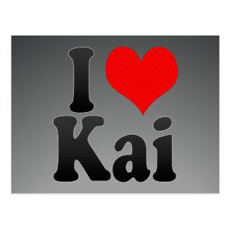 Amo a Kai Postales