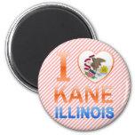 Amo a Kane, IL Imán Para Frigorifico